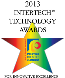 Web to print recipient InterTech Technology Award