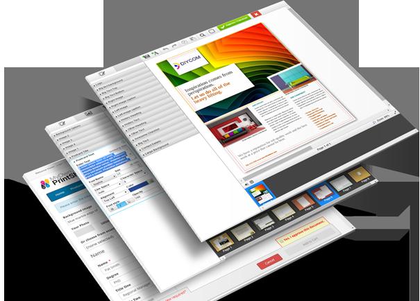 web to print storefront edocbuilder screen shots