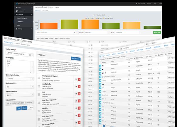 web to print storefront printjobmanager screen shots