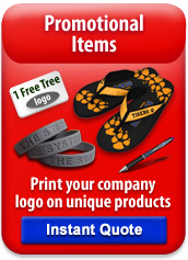 print logo on items