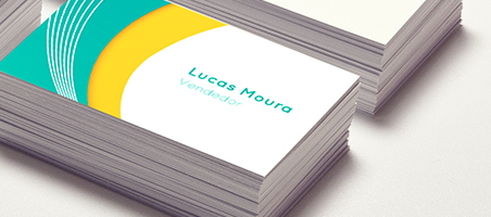 Cartão de visita para marketing - PrintBros Gráfica Online