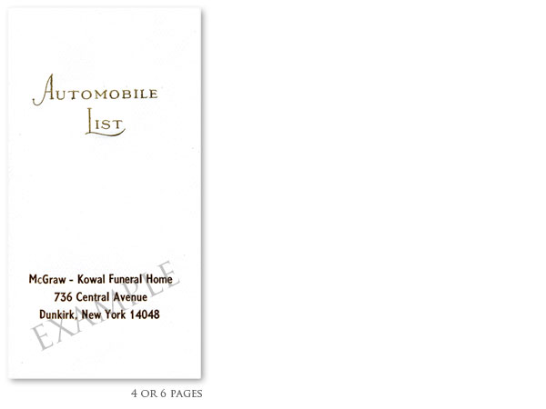 Automobile Lists