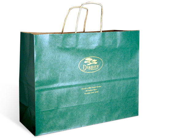 Large Bags with Imprint #1174