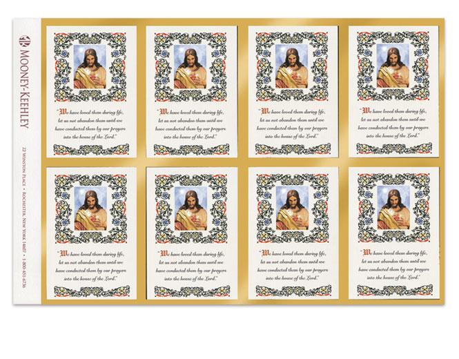 Mooney Keehley Prayer Card