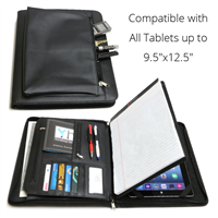 iPad Business Leather Portfolio Sample
