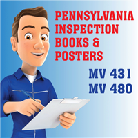 PA Inspection Books and Emission Posters