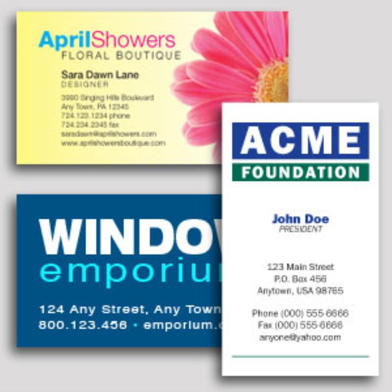 Design line Standard Business Cards