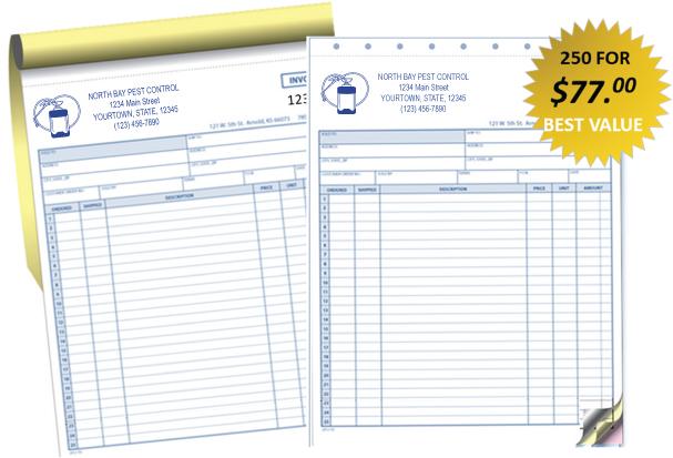pest control service invoice template, Invoice templates