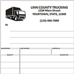 trucking invoice form template .