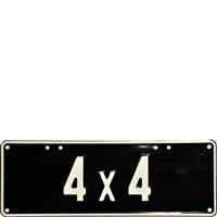 Embossed 4X4 2