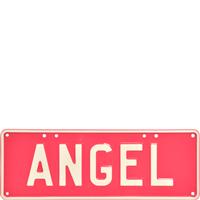 Embossed ANGEL