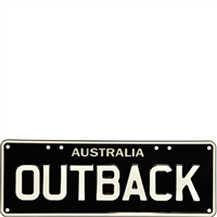 Embossed OUTBACK