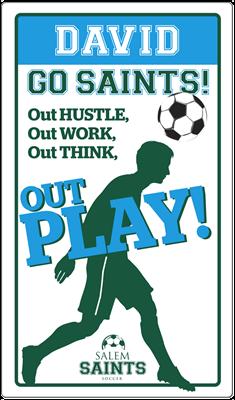 Soccer Locker Magnet Boys