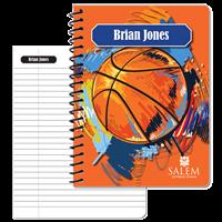 Sports Notebook - Basketball