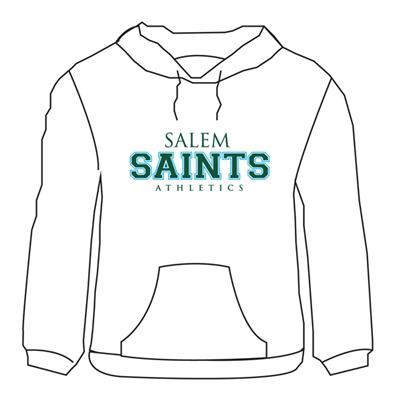 Salem  Hoodie - white