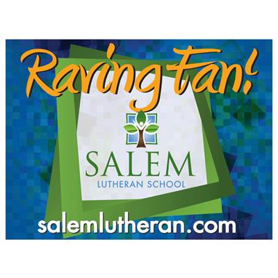 Raving Fan Spirit Sign