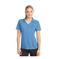 Ladies' Blue Dr-Fit Style Polo