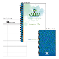 Small Salem Logo Notebook
