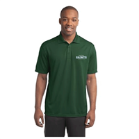 Men's Green Dr-Fit Style Polo