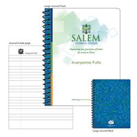 Large Salem Logo Notebook