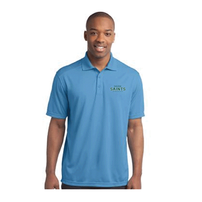 Men's Blue Dr-Fit Style Polo