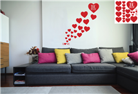 Valentines Wall Vinyl