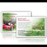 Lawn Care Postcard