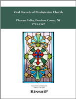Vital Records of Presbyterian Church