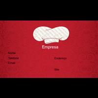 Cartão de Visita Alimentos e Restaurantes 7