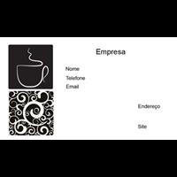 Cartão de Visita Alimentos e Restaurantes 5