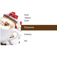 Cartão de Visita Alimentos e Restaurantes 6