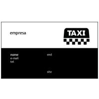 Cartão de Visita Taxista 11