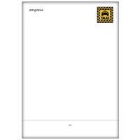Papel Carta Taxista 7