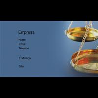 Cartão de Visita Advogado 18