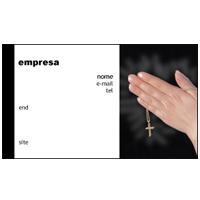 Cartão de Visita Religioso 3