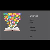 Cartão de Visita Educação 13