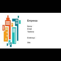 Cartão de Visita Arquiteto e Design 28