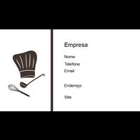 Cartão de Visita Alimentos e Restaurantes 26