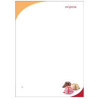 Papel Carta Alimentos e Restaurantes 15
