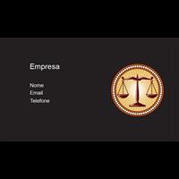 Cartão de Visita Advogado 8