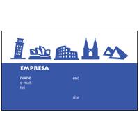 Cartão de Visita Turismo e Entretenimento 1