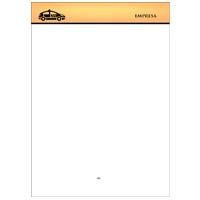Papel Carta Taxista 20