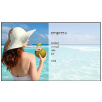 Cartão de Visita Turismo e Entretenimento 10