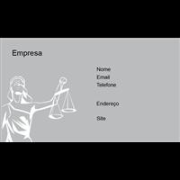 Cartão de Visita Advogado 25