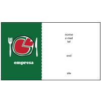 Cartão de Visita Pizzaria 12
