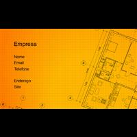 Cartão de Visita Arquiteto e Design 18