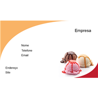 Cartão de Visita Alimentos e Restaurantes 15