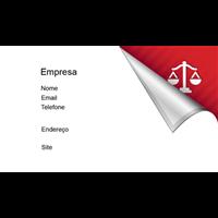 Cartão de Visita Advogado 17