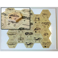 Printed Game Counters