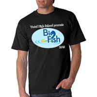 Men's Custom T-Shirts - Back & Pocket Design